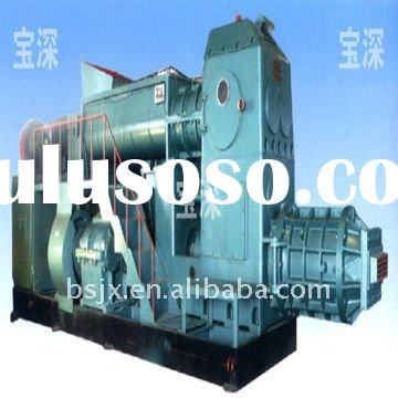 Small clay brick extruder Hydraulic mud brick making/JKB50/50B-35 Vacuum extruder for clay brick mak