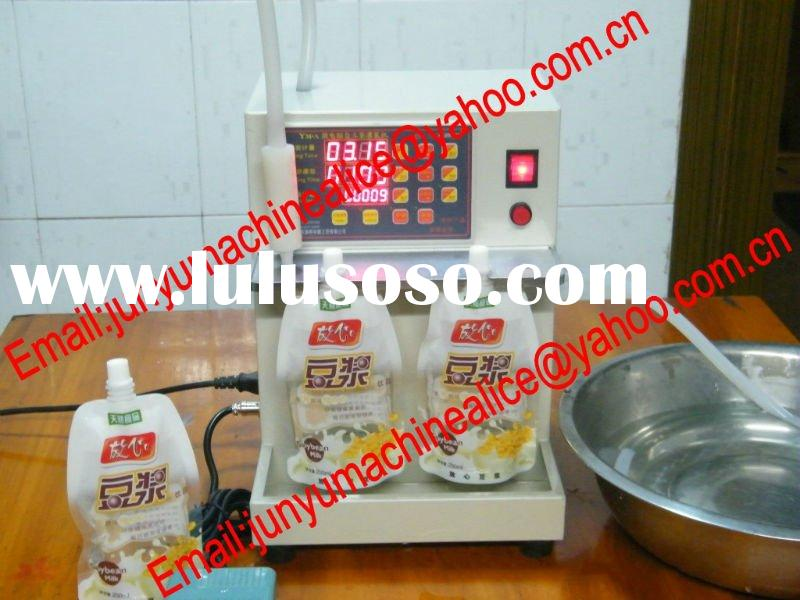 Soya-bean milk self-supporting bag filling machine/ fruit juice bag filling machine /milk self-suppo