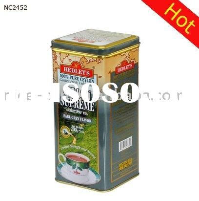 Square Tea Box&Tin Tea Can& Tea Packaging