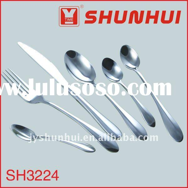 Stainless steel spoon knife forks set