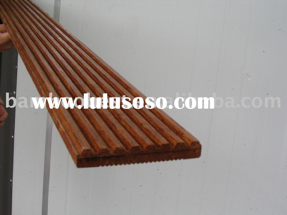 Strand woven bamboo flooring/A garde/Carbonized/Outdoor/China
