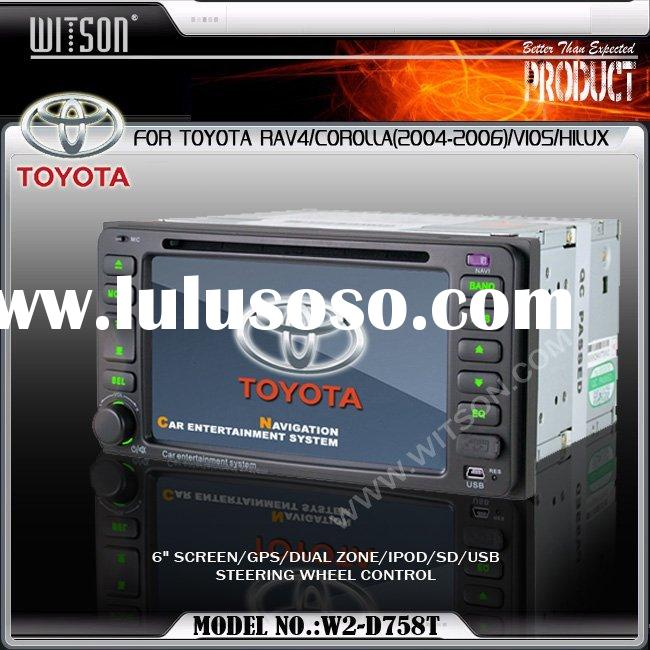 TOYOTA RAV4/COROLLA(2004-2006)/VIOS/HILUX WITSON Special Car DVD Player For TOYOTA RAV4,COROLLA with