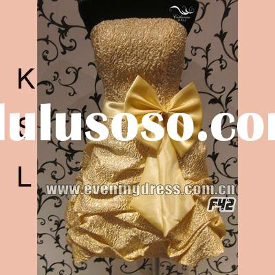 The latest design fashin short girl special occasions prom dresses 2012 yf42(F42)