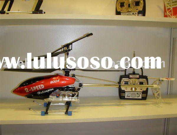 Two Speed RC 3CH Metal Gyro Helicopter Toy