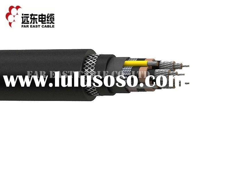 Type SHD-GC Three-Conductor Round Portable Mining Power Cable,CPE Jacket 8KV