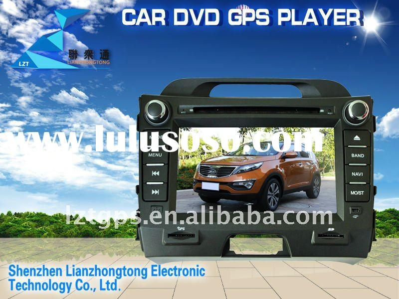 (Factory Price, Hot) 2 din 7 inch kia sportage 2011 navigation with car dvd player/GPS/bluetooth/rad