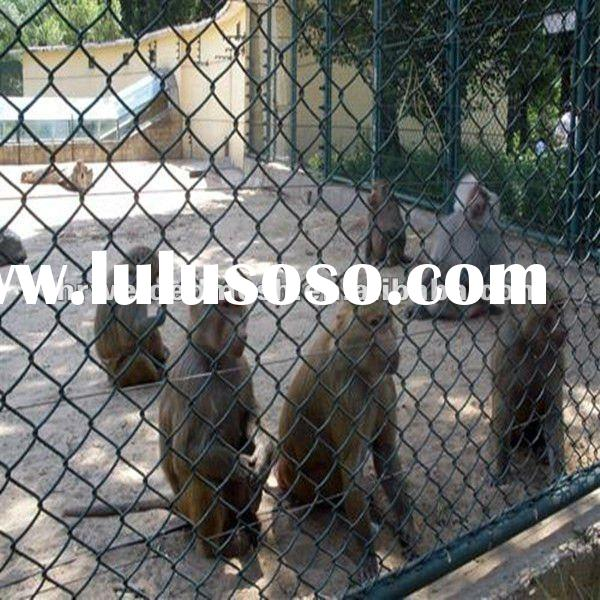 (zoo Mesh Animal Enclosed) PVC Chain Link Fencing