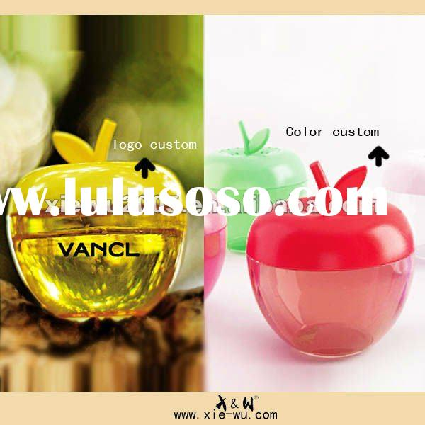 apple shaped car air freshener gel for car/hourse/office/toilet