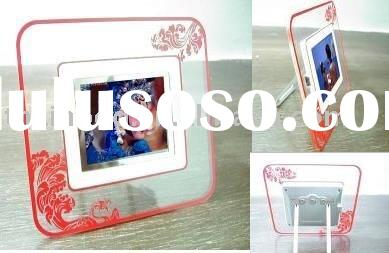 battery operated digital photo frame,new product
