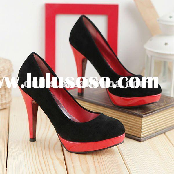 cheap wholesale shoes high heels women shoes china shoes 2012 ho115