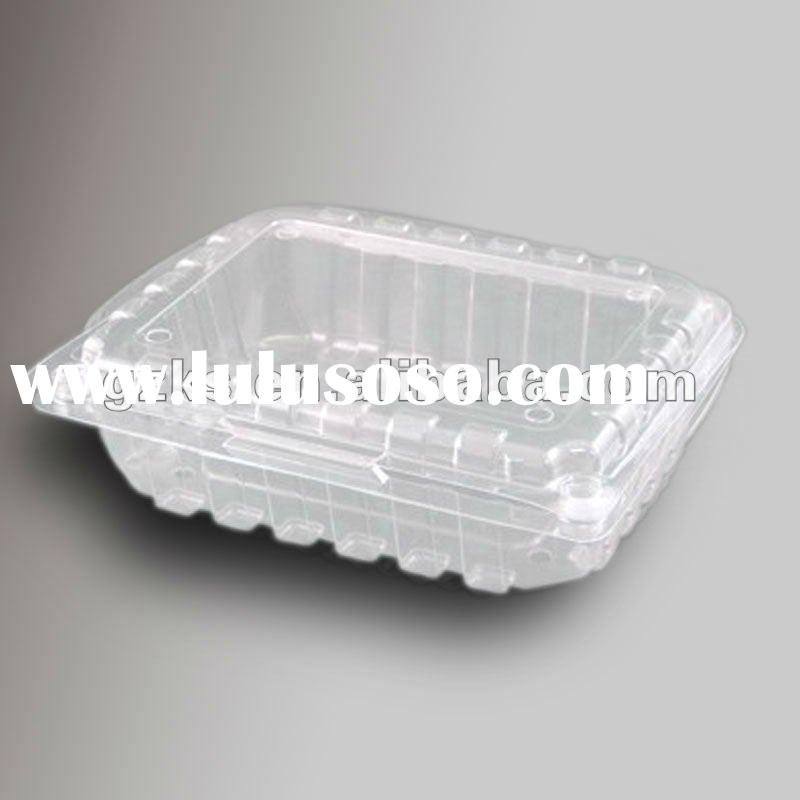 clear plastic fruit container