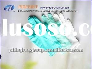 disposable latex examination & madical & surgical gloves malaysia powder free
