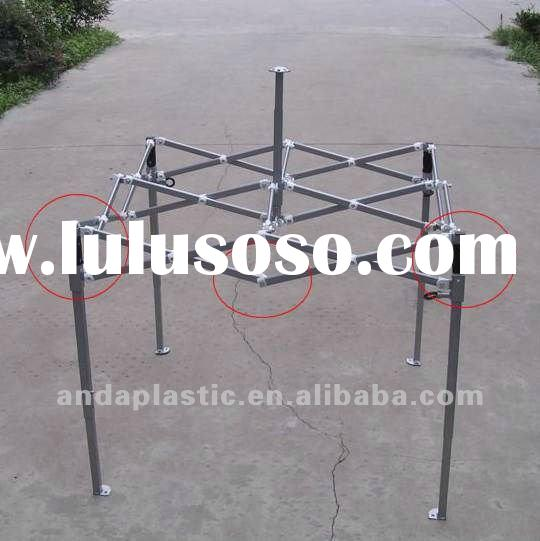 folding tent plastic fittings