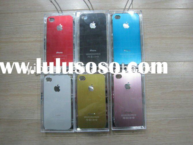 for iphone 4s case aluminum metal cell phone case