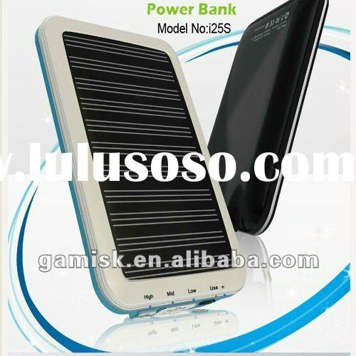 high quality Solar Charger for smartphone 2500mAh