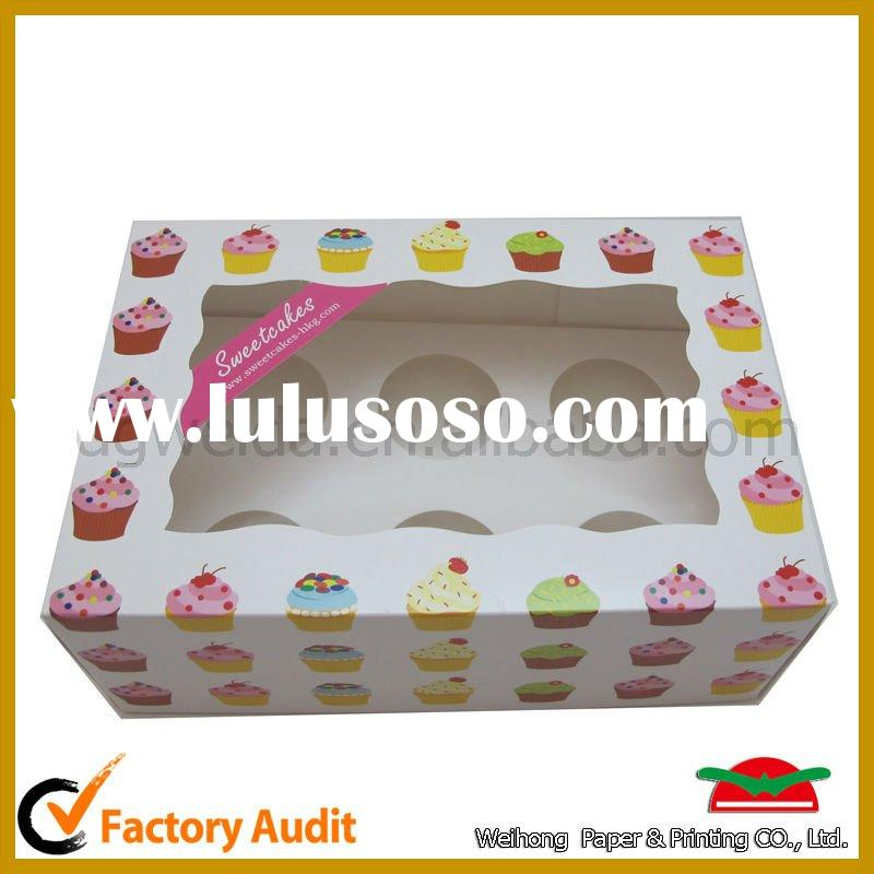hot sale custom cupcake boxes and packaging