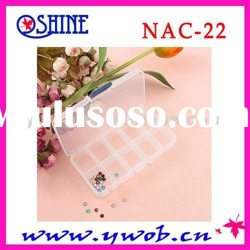 hot sell empty nail art container