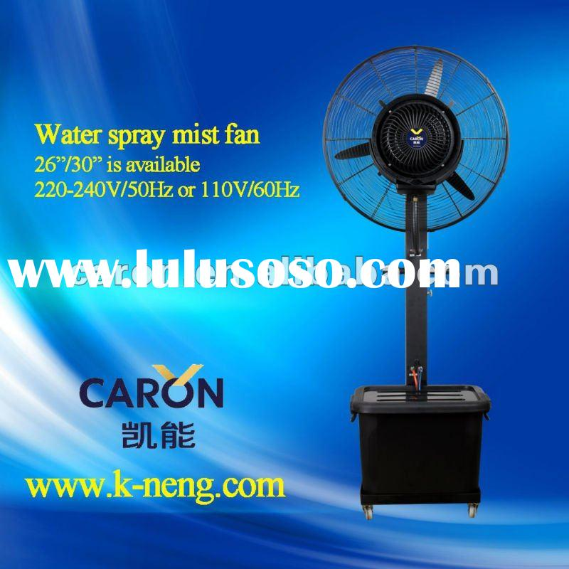 Outdoor Water Cooling Fans : Fog fan water mist cooling for sale price china