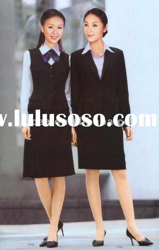 ladies business suit design/ladies designer dress suits