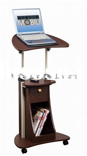 laptop table(mobile laptop stand with storage)