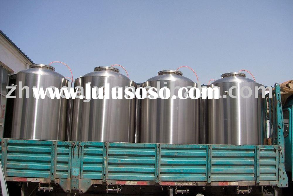 large-medium sized brewery equipment(mash/lauter tank,fermenter,CIP tank,hot water tank,cold water t