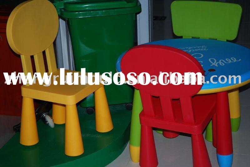 plastic injection children chiar and table toy mould