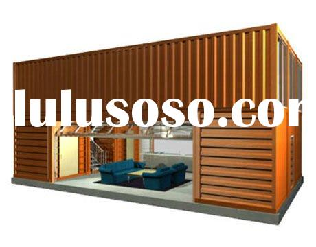 prefab beautiful 40ft container home