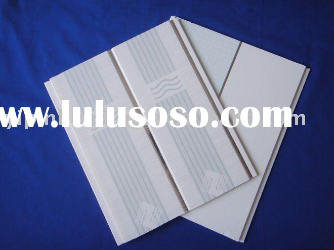pvc tongue and groove insulation ceiling panel fofr room decoration