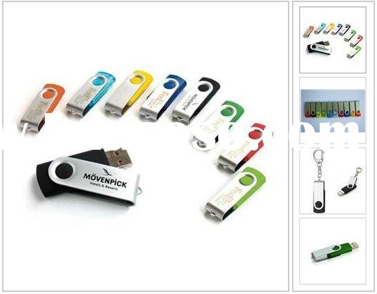 super hot selling factory price 8GB swivel USB Flash pendriver USB gift USB memory card wedding gift