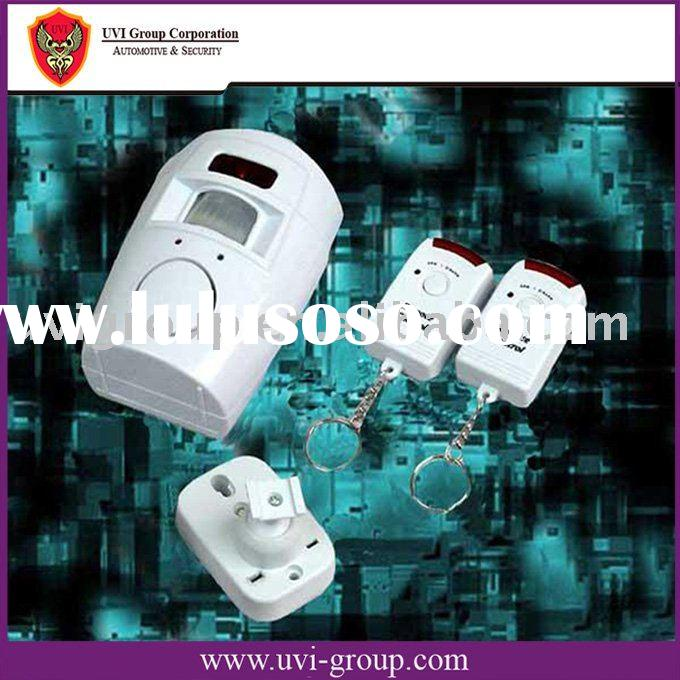wireless security alarm with Remote control