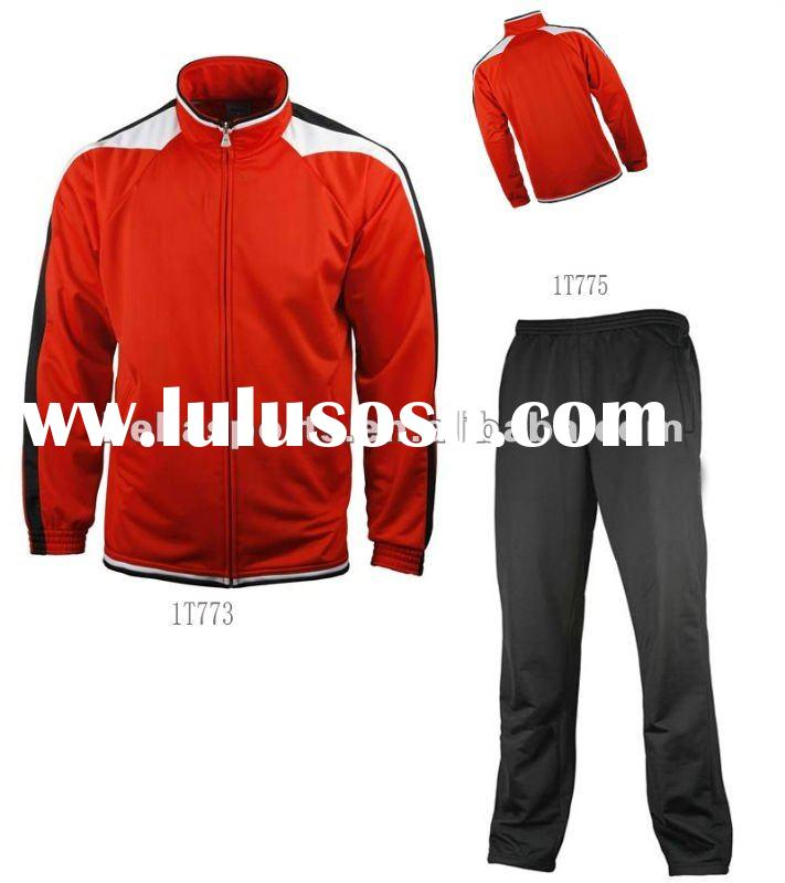 2012 Hottest Custom Wholesale Sports Training Tracksuit Track Top Track Trousers