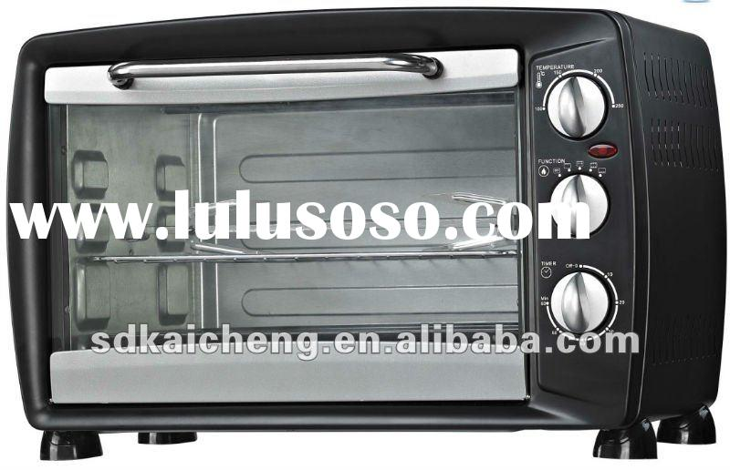 28L electric baking oven with rotisserie and convection functions