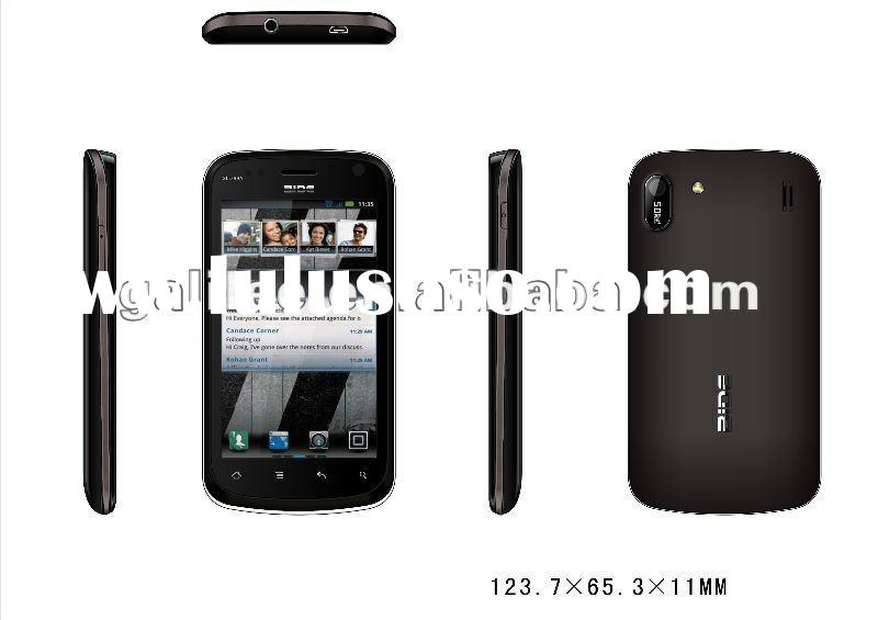 Factory direct wholesale dual sim android gps mobile phone