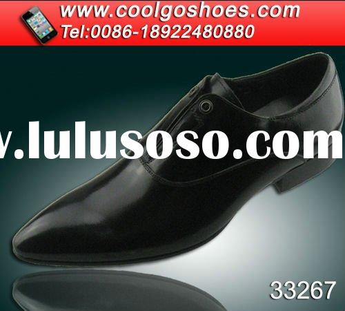 Fashion beautiful leather dress shoes In Italy design made by China shoes manufature