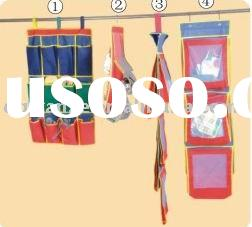 Folding wall hanging organizer