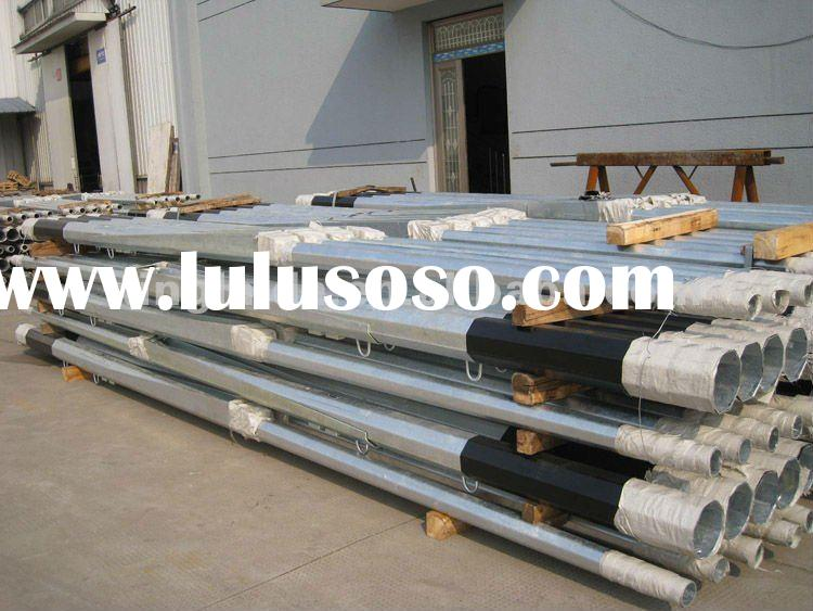 High Quality Lighting Column Mid Hinged Pole