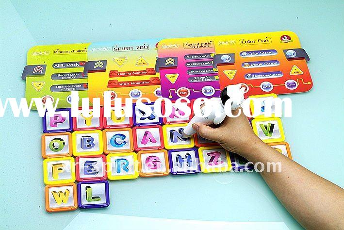 Kid educational game toy,super electronic game blocks YXK-1EN