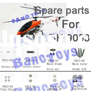 Spare Parts for DH 9053 RC Helicopter Double Horse Accessories SuangMa