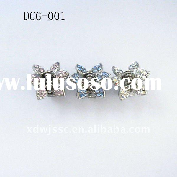 The best quality crystal stone mini hair claw