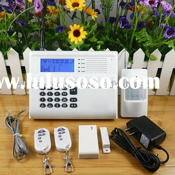 Wireless GSM SMS alert security alarm system for auto dialer
