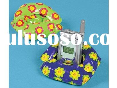 inflatable mobile phone holder