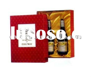 new products for 2012 paper wine box gift boxes for wine glasses paper box