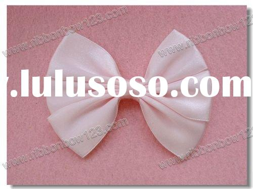 satin ribbon neck bow tie