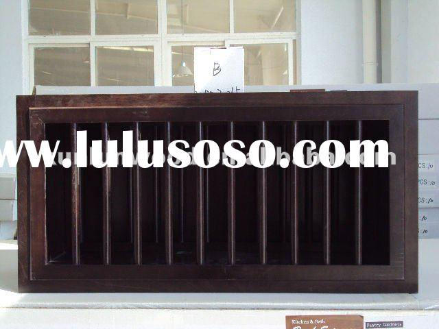 wooden plate rack kitchen cabinets