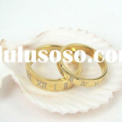 2012 Fashion New Style 18k gold lover's Ring ws097