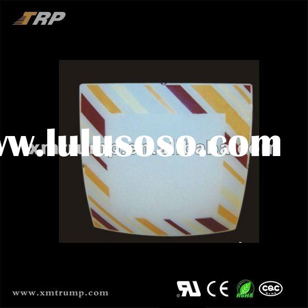 2012 Newest modern led square glass ceiling lamp