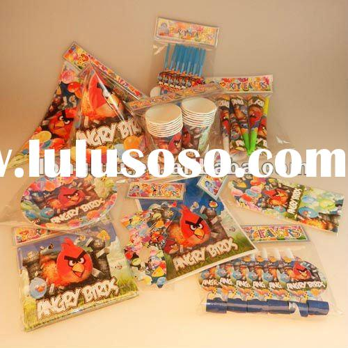 2012 Popular and Hot sale food grade party stuff and party favors for kids