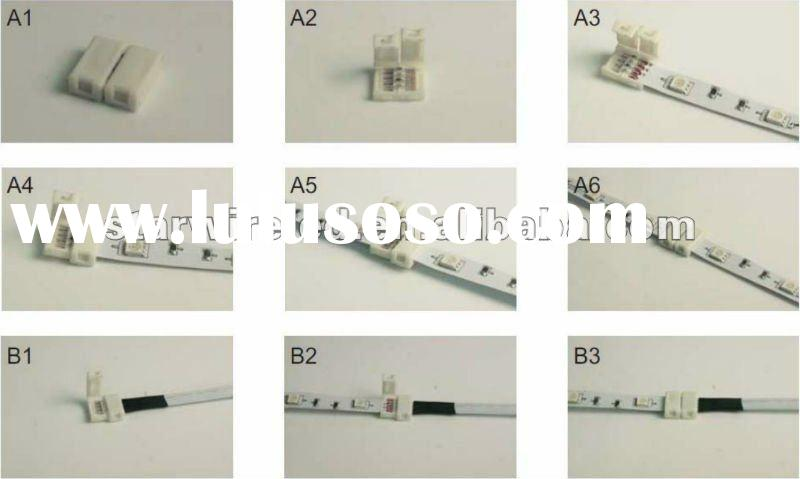 2012 cheapest Middle connector/2pin led connector