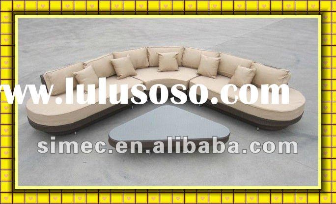 2012 factory hot sale cheap price modern rattan furniture outdoor SCSF-035