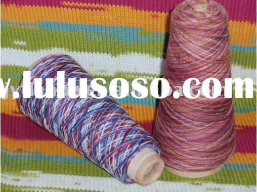 20s/2 100% COTTON SPACE DYED YARN
